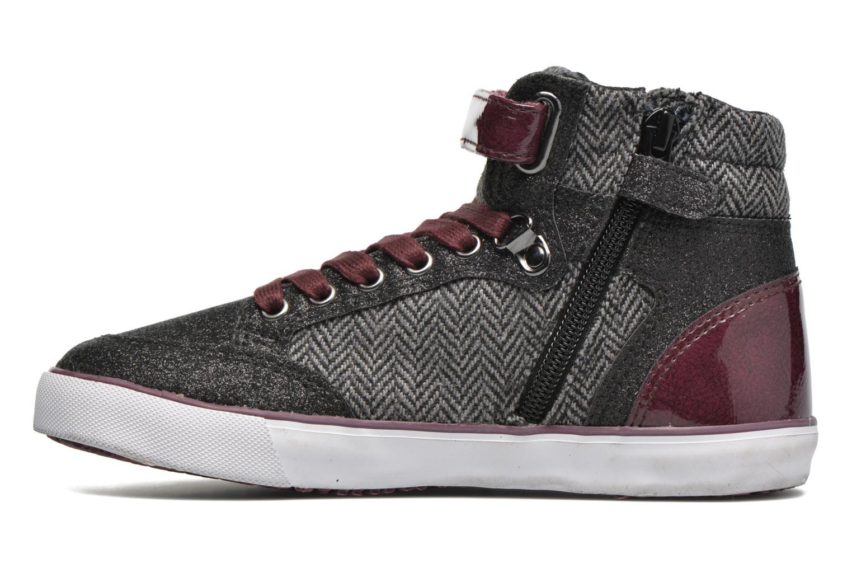 Sneaker Kaporal Mounty schwarz ansicht von vorne