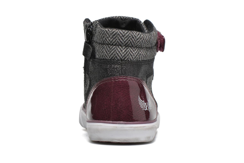 Sneaker Kaporal Mounty schwarz ansicht von rechts