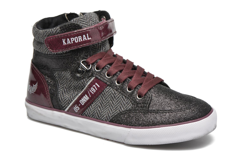Sneaker Kaporal Mounty schwarz detaillierte ansicht/modell