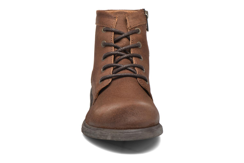 Bottines et boots Selected Homme Trevor Marron vue portées chaussures