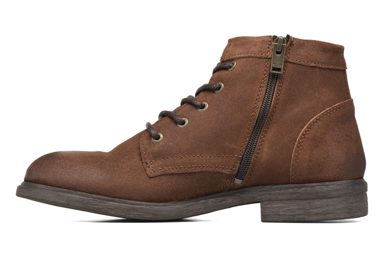 Bottines et boots Selected Homme Trevor Marron vue face