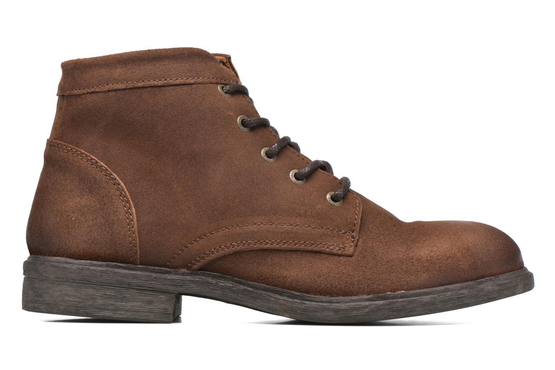Bottines et boots Selected Homme Trevor Marron vue derrière