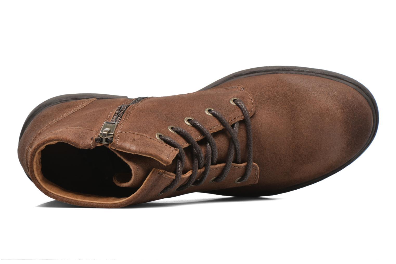 Bottines et boots Selected Homme Trevor Marron vue gauche