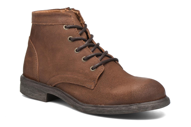 Bottines et boots Selected Homme Trevor Marron vue détail/paire