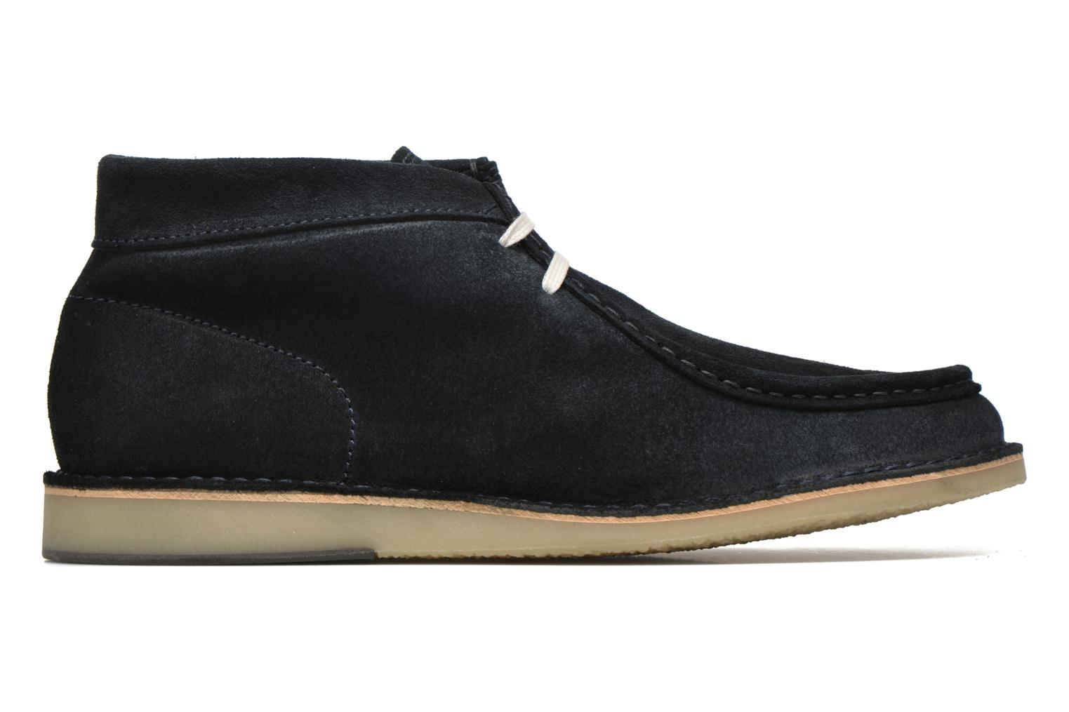 Lace-up shoes Selected Homme Ronni Blue back view