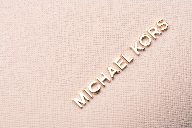 Sacs à main Michael Michael Kors PORTIA LG EW Shoulder Rose vue gauche