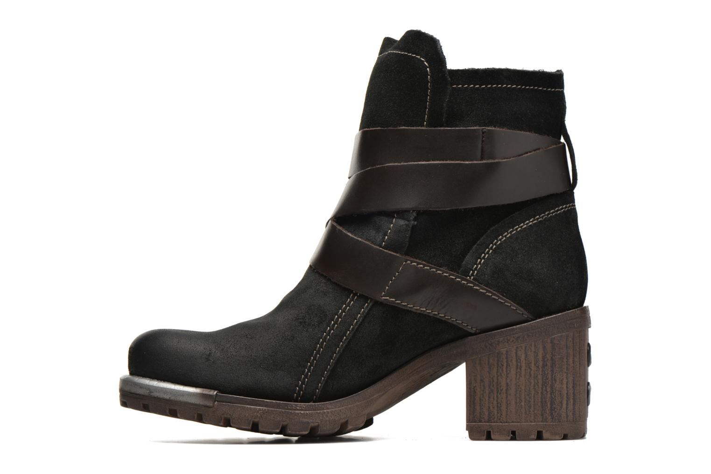 Bottines et boots Fly London Lok Noir vue face