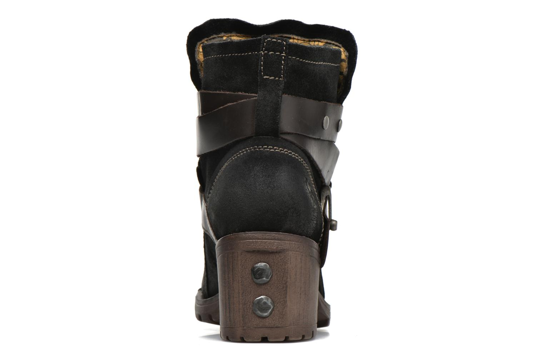 Bottines et boots Fly London Lok Noir vue droite