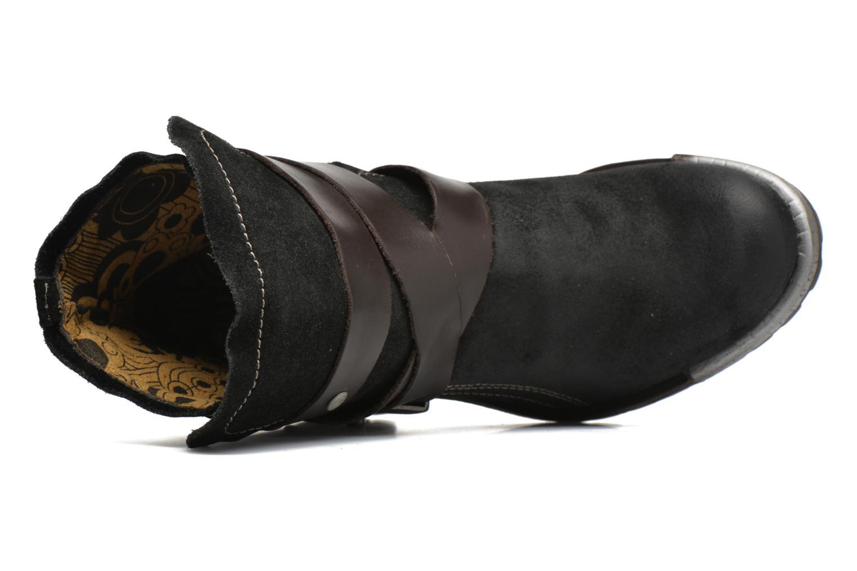 Bottines et boots Fly London Lok Noir vue gauche