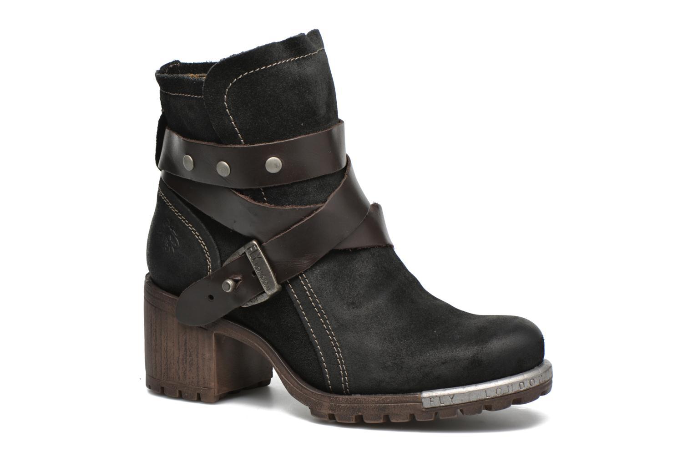 Bottines et boots Fly London Lok Noir vue détail/paire