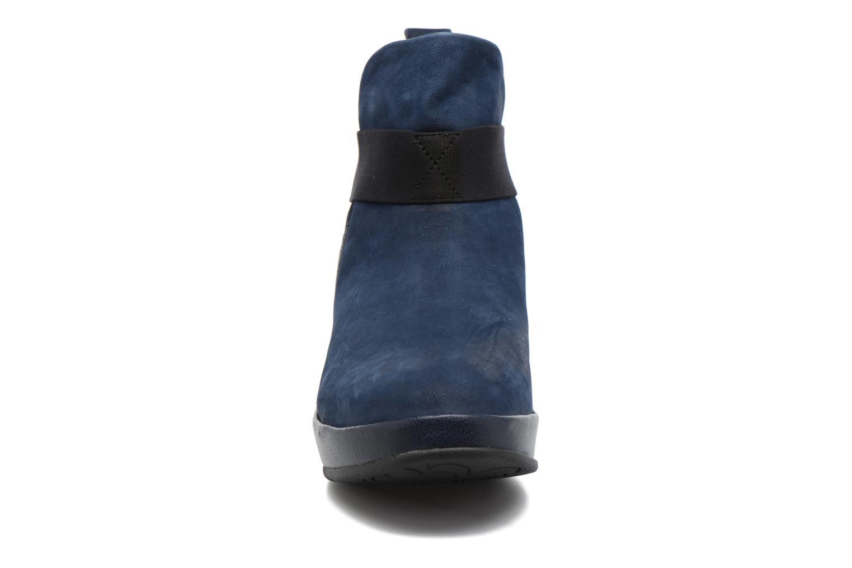 Bottines et boots Fly London Beta660 Bleu vue portées chaussures