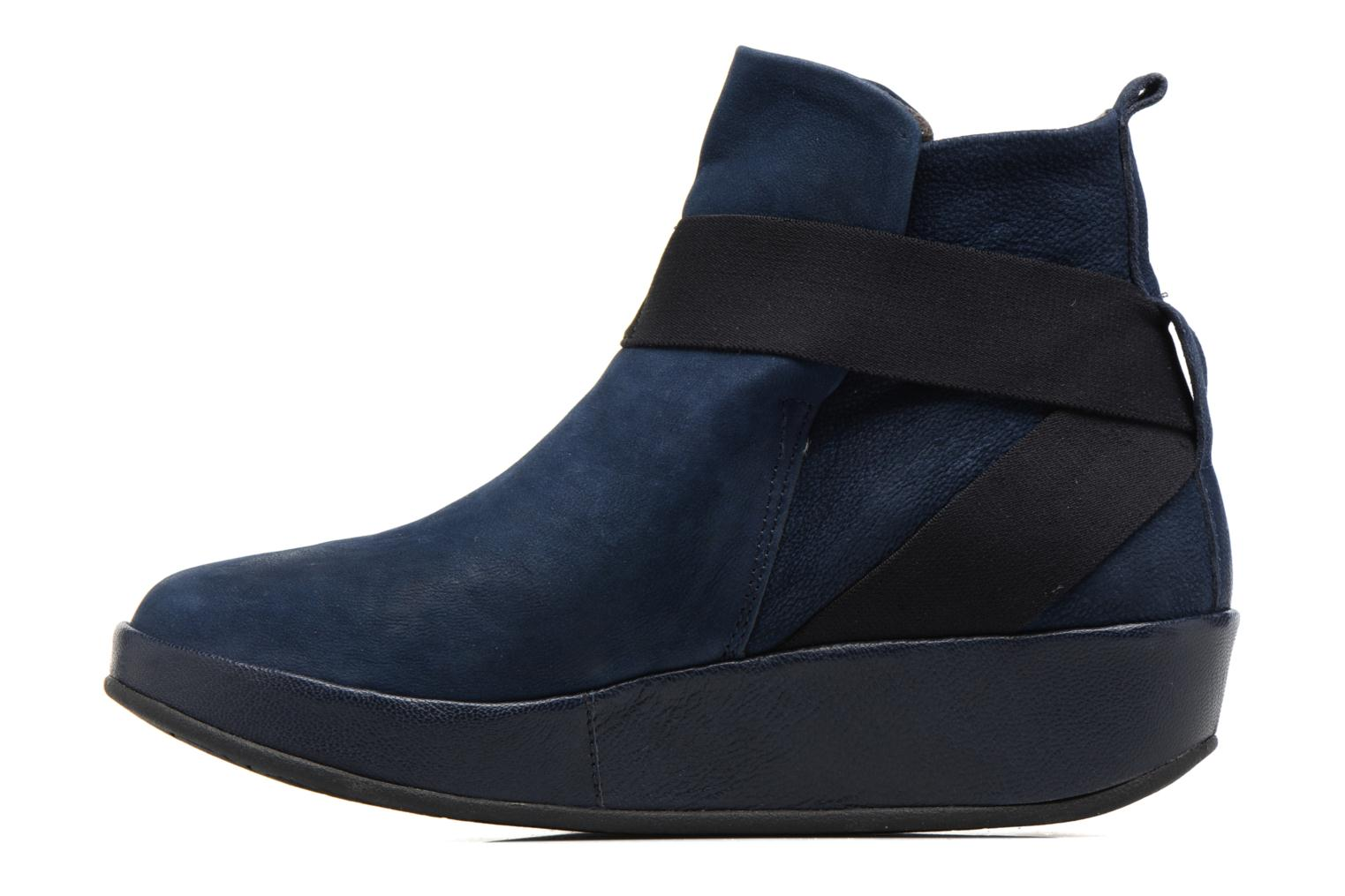 Ankle boots Fly London Beta660 Blue front view
