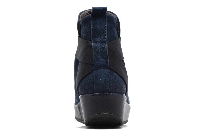 Bottines et boots Fly London Beta660 Bleu vue droite