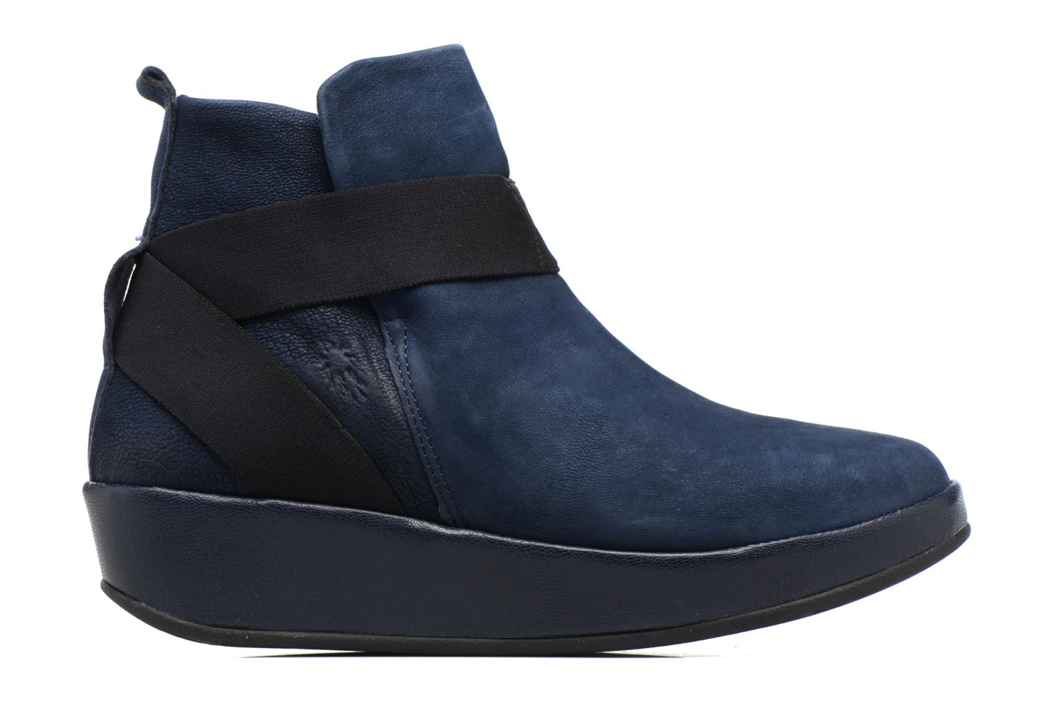 Ankle boots Fly London Beta660 Blue back view