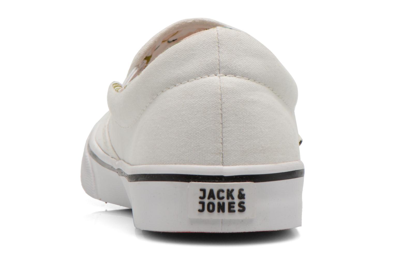 Sneaker Jack & Jones JJ Surf Urban Loafer weiß ansicht von rechts