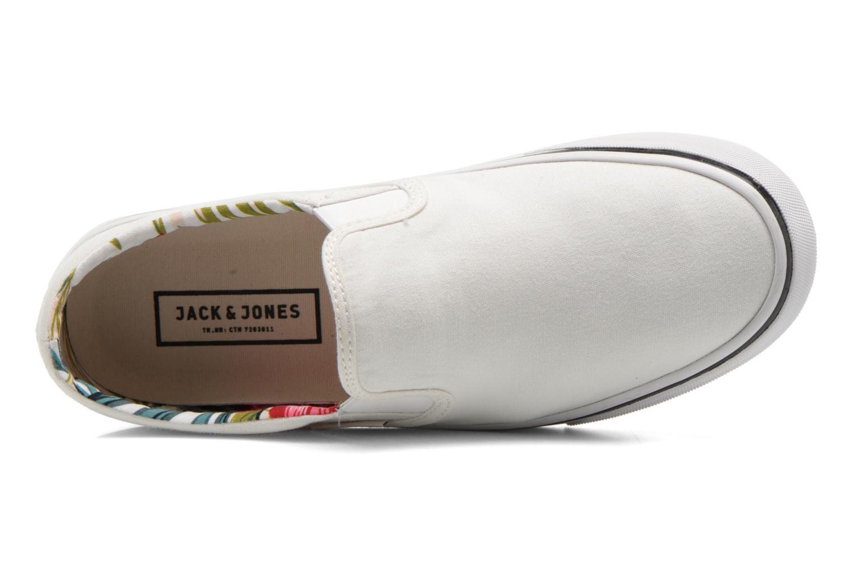 Baskets Jack & Jones JJ Surf Urban Loafer Blanc vue gauche