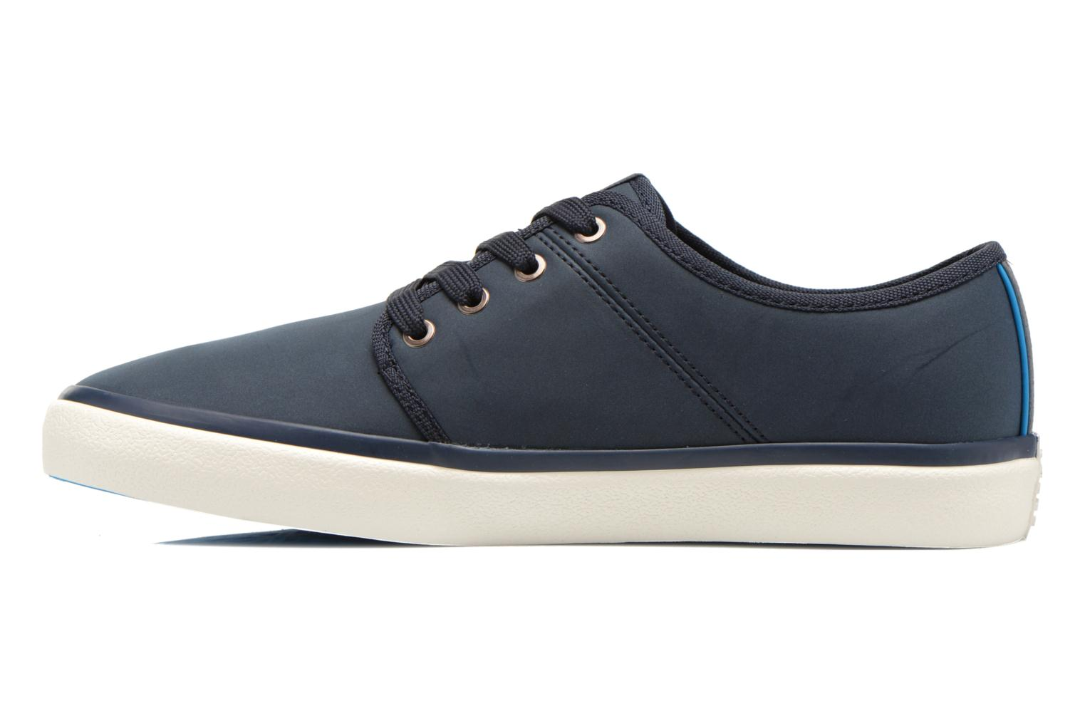 Baskets Jack & Jones JJ Turbo PU Nylon Sneaker Bleu vue face