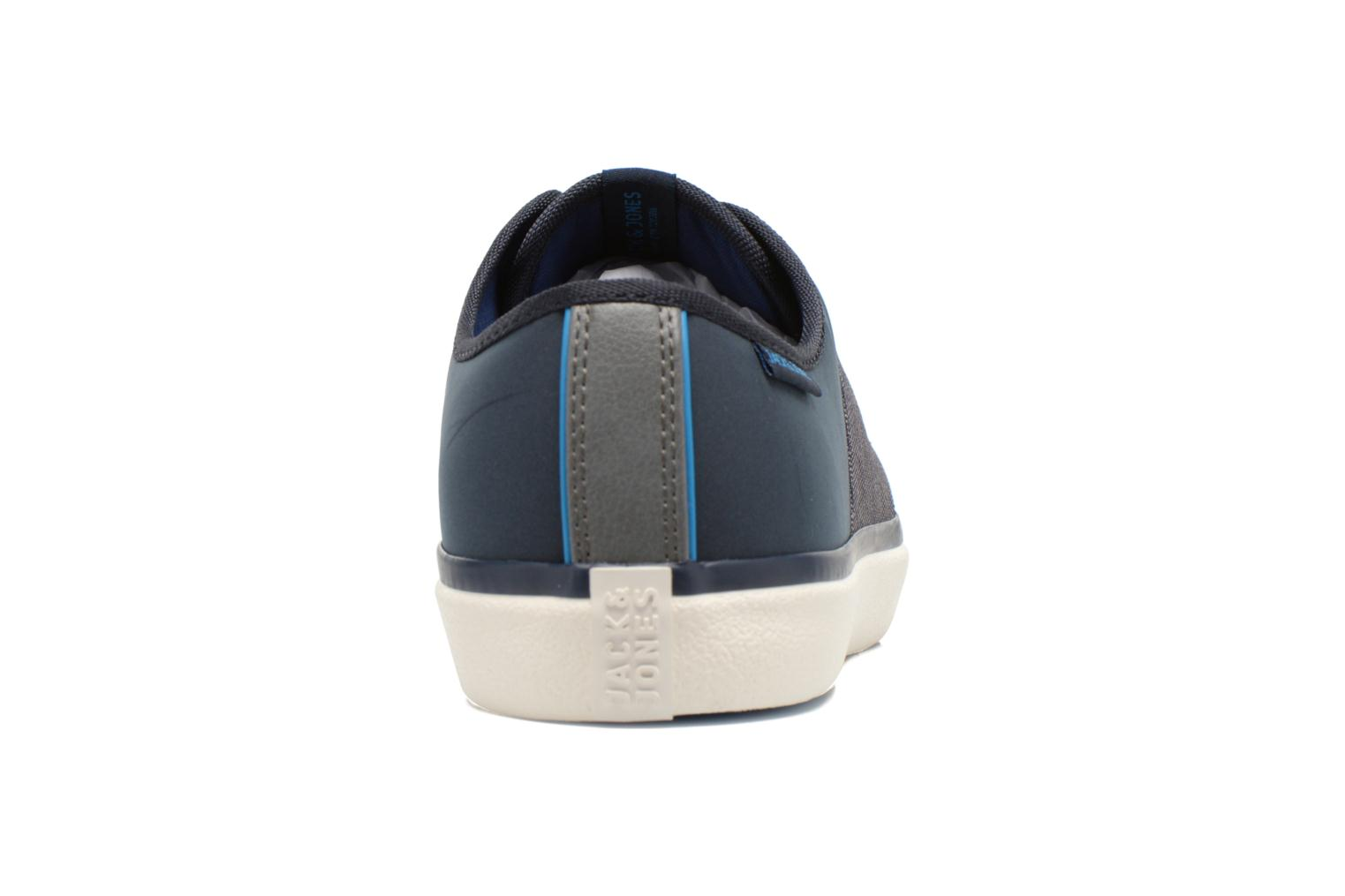 Baskets Jack & Jones JJ Turbo PU Nylon Sneaker Bleu vue droite
