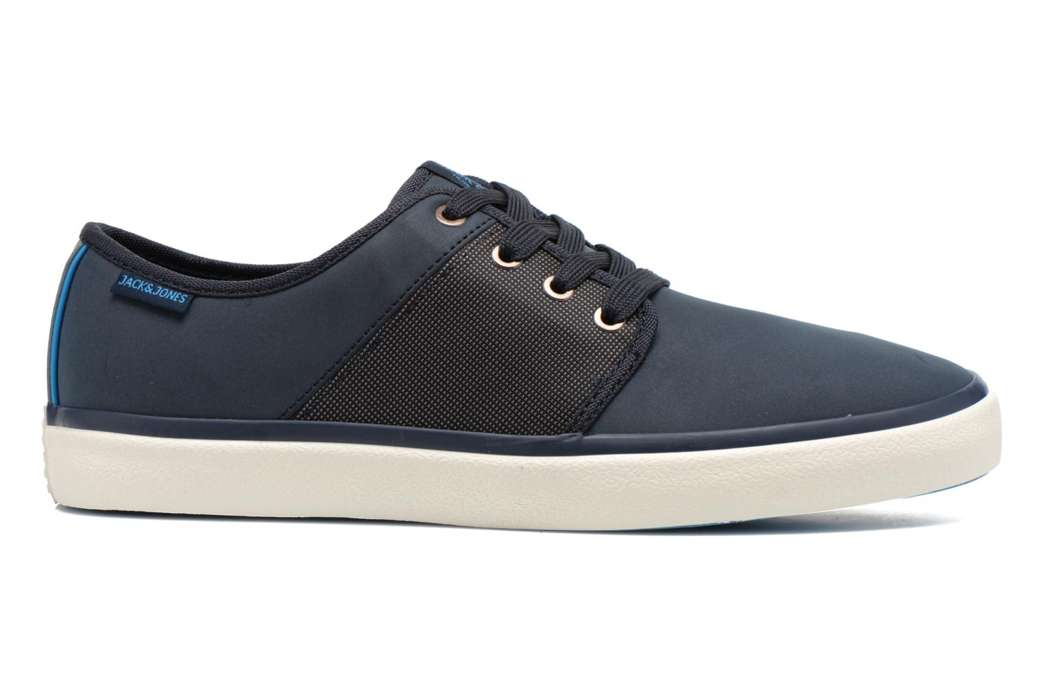 Baskets Jack & Jones JJ Turbo PU Nylon Sneaker Bleu vue derrière