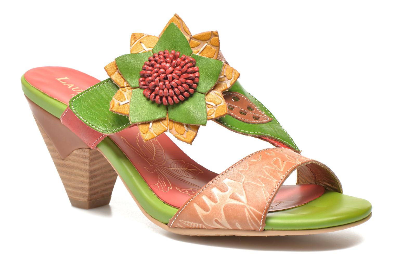 Clogs og træsko Laura Vita Toucy Multi detaljeret billede af skoene