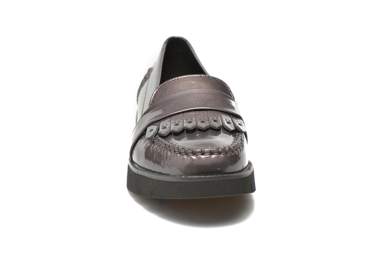 Mocassins Geox D BLENDA C D640BC Gris vue portées chaussures