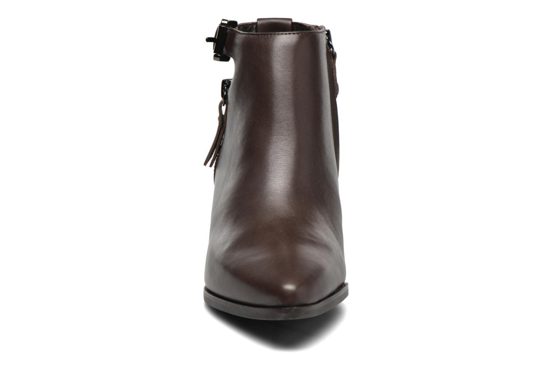 Bottines et boots Geox D LIA B D640HB Marron vue portées chaussures