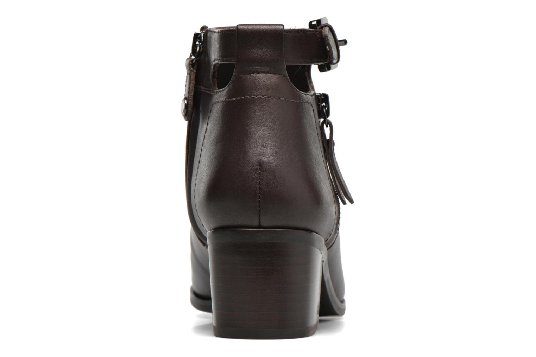 Bottines et boots Geox D LIA B D640HB Marron vue droite
