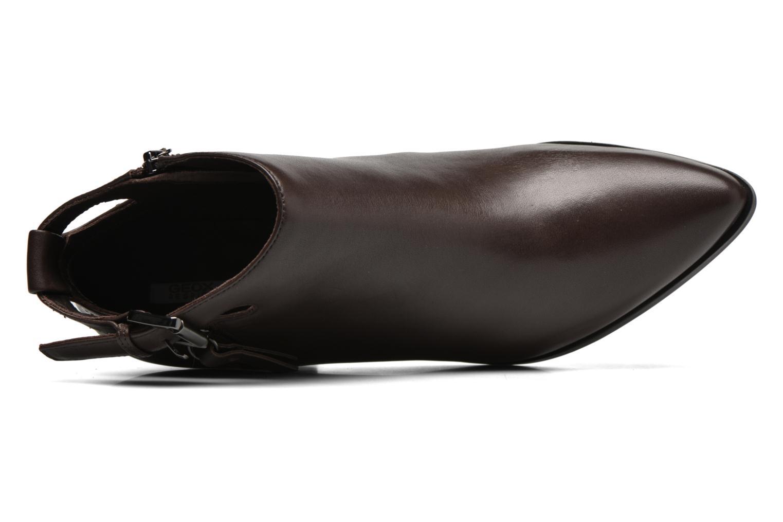 Bottines et boots Geox D LIA B D640HB Marron vue gauche