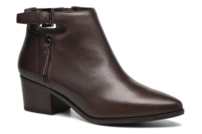Bottines et boots Geox D LIA B D640HB Marron vue détail/paire