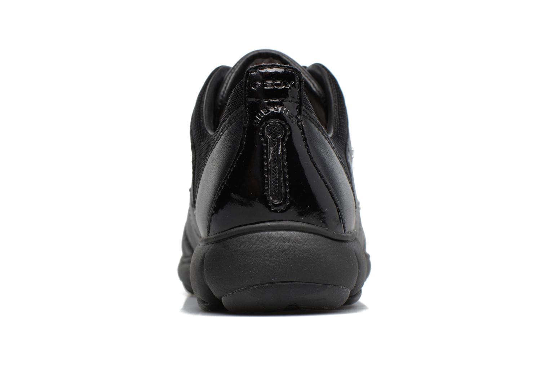 Baskets Geox D NEBULA E D641EE Noir vue droite