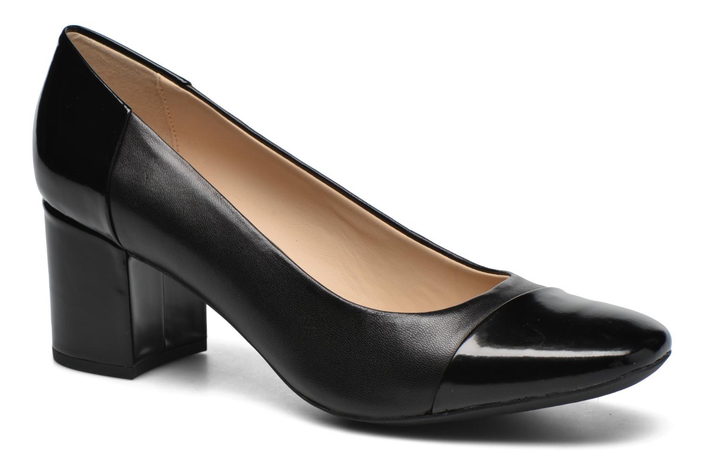 modelo más vendido de la marcaGeox D NEW SYMPHONY MID. C D642WC (Negro) - Zapatos de tacón en Más cómodo
