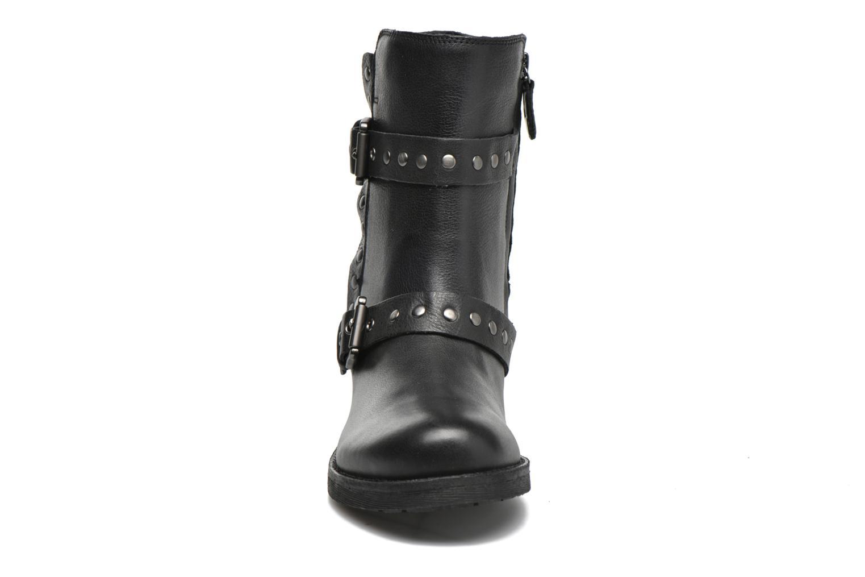 Bottines et boots Geox D NEW VIRNA G D6451G Noir vue portées chaussures