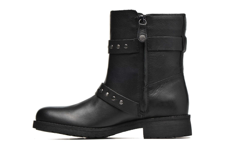 Bottines et boots Geox D NEW VIRNA G D6451G Noir vue face