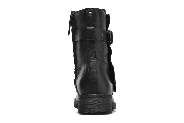 Bottines et boots Geox D NEW VIRNA G D6451G Noir vue droite