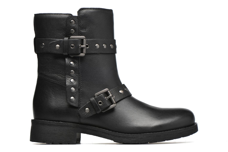 Bottines et boots Geox D NEW VIRNA G D6451G Noir vue derrière