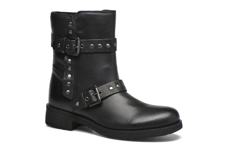 Bottines et boots Geox D NEW VIRNA G D6451G Noir vue détail/paire