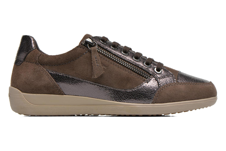 Sneakers Geox D MYRIA A D6468A Oro e bronzo immagine posteriore