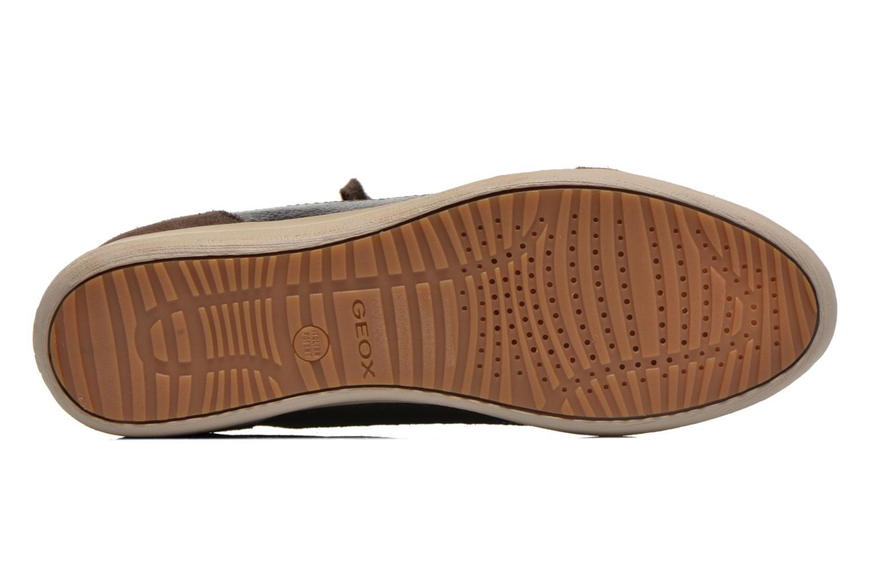 Sneakers Geox D MYRIA A D6468A Oro e bronzo immagine dall'alto