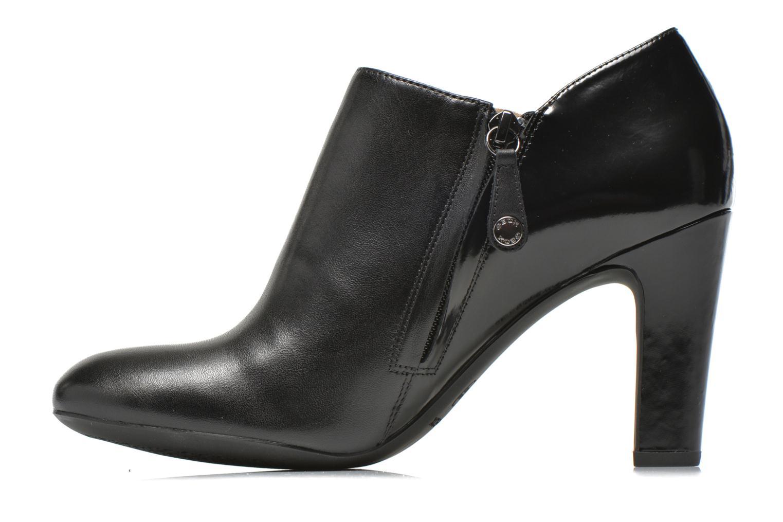 Bottines et boots Geox D NEW MARIELE HIGH. A D6498A Noir vue face