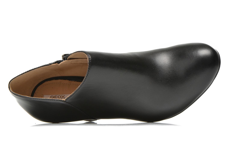 Bottines et boots Geox D NEW MARIELE HIGH. A D6498A Noir vue gauche