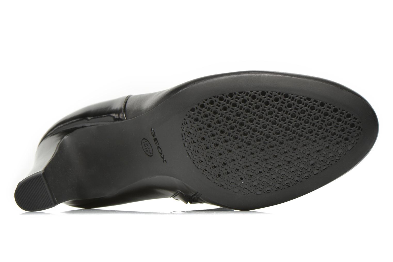 Bottines et boots Geox D NEW MARIELE HIGH. A D6498A Noir vue haut