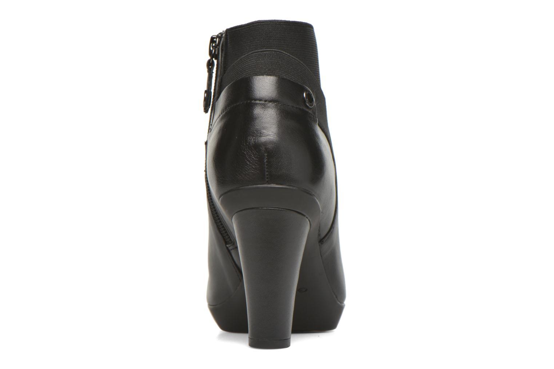 Bottines et boots Geox D INSPIRATION ST. B D64G9B Noir vue droite