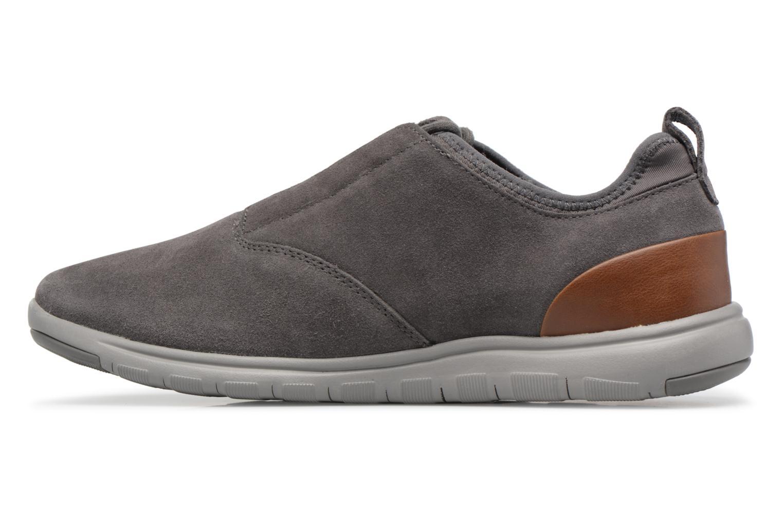 Sneaker Geox U XUNDAY 2FIT A U640DA grau ansicht von vorne