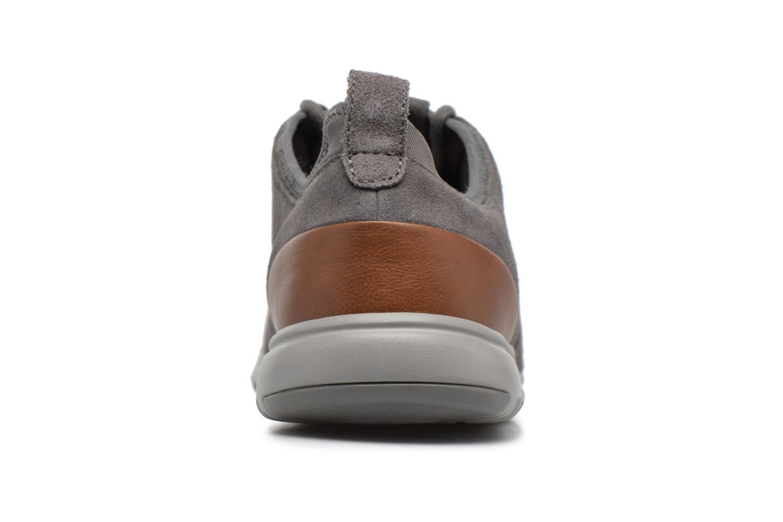 Sneaker Geox U XUNDAY 2FIT A U640DA grau ansicht von rechts