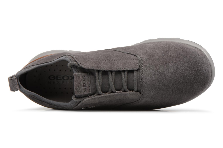Sneaker Geox U XUNDAY 2FIT A U640DA grau ansicht von links