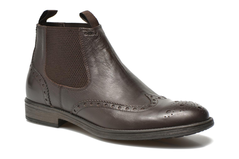 Bottines et boots Geox U JAYLON B U64Y7B Marron vue détail/paire
