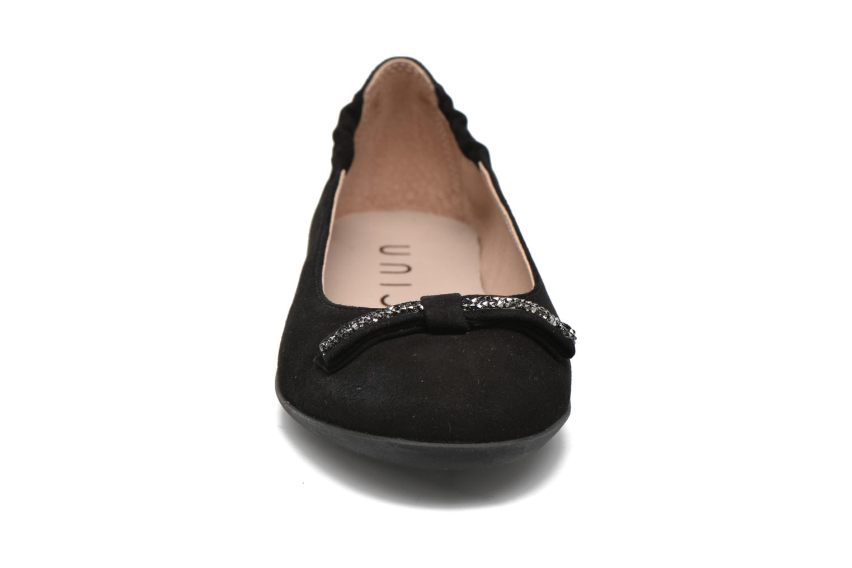 Ballerines Unisa Alt Noir vue portées chaussures
