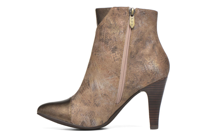 Bottines et boots Les P'tites Bombes Adele Marron vue face