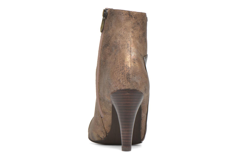 Bottines et boots Les P'tites Bombes Adele Marron vue droite