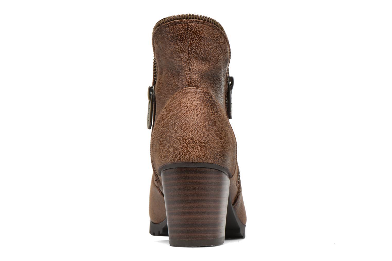Bottines et boots Les P'tites Bombes Charline Marron vue droite